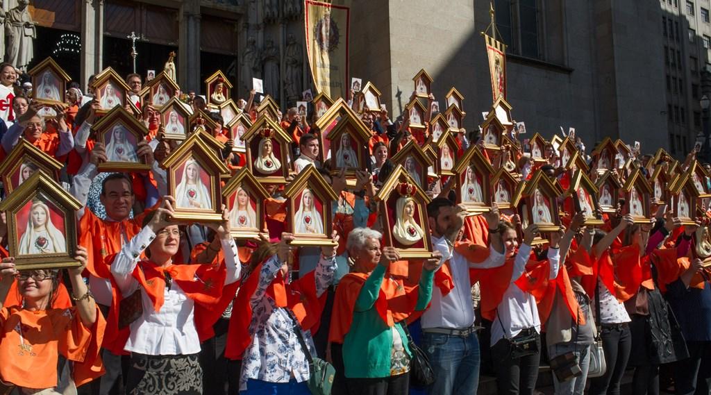 Felizes aqueles que abrem as portas de suas casas para o Imaculado Coração de Maria