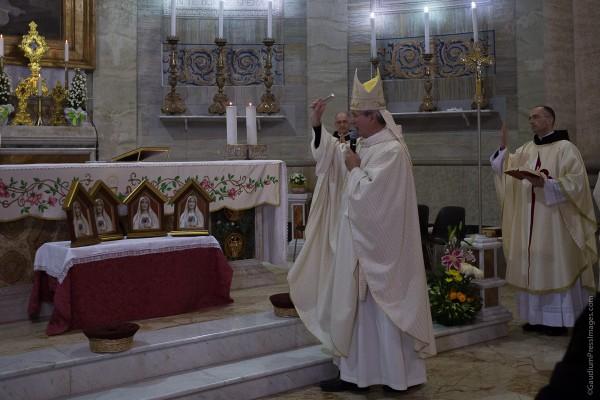 Mons Raffaello Martinelli, Obispo de Frascati - Montecompatri, Italy