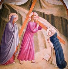 Nosso Senhor a caminho do calvário - Fra Angelico