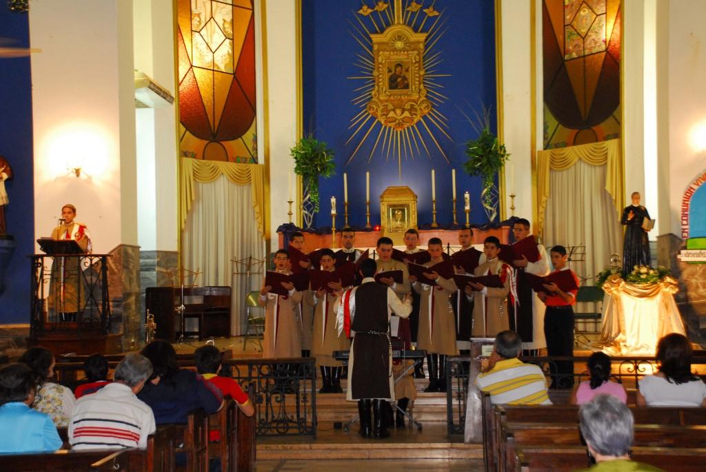 Concierto en el Santuario de Nuestra Señora del Perpetuo Socorro