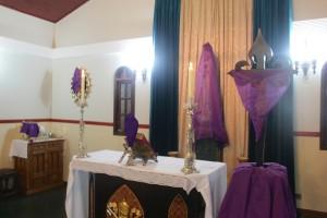 Por que se cobrem as imagens na Semana Santa?