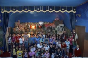 Visitas das catequeses ao Presépio no mês de outubro