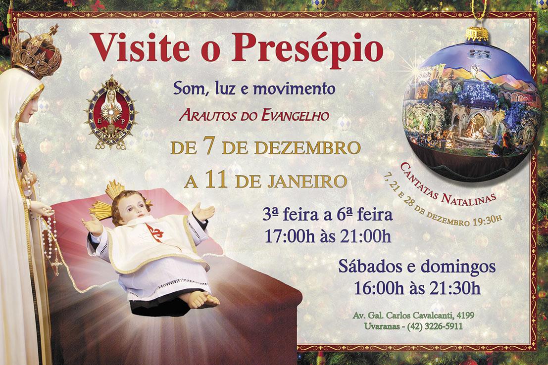 Convite: Presépio 2014