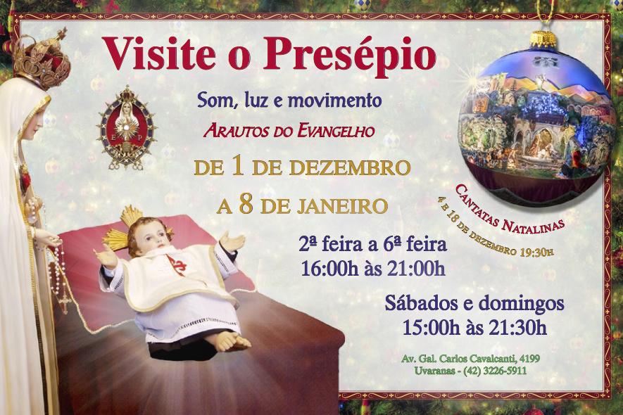 Inauguração do Presépio
