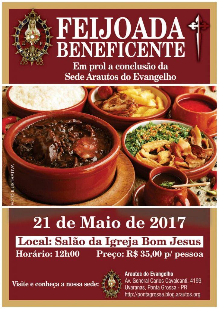 Convite: Feijoada Beneficente