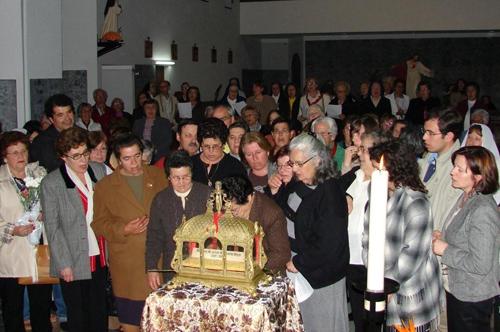 Relíquias de Santa Margarida Maria Alacoque