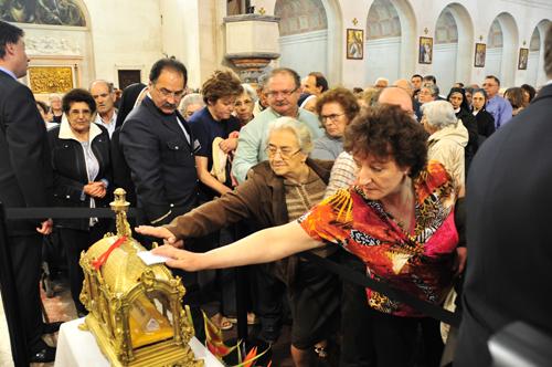 Peregrinação das relíquias de Santa Margarida, em Fátima