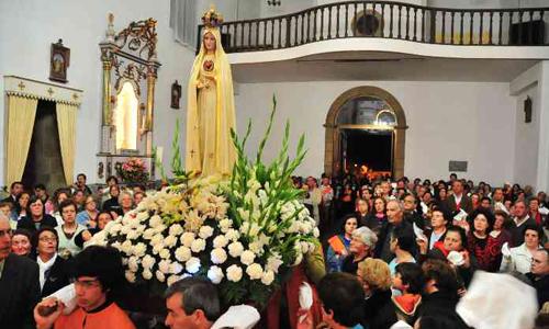 Entusiasmo na recepção da Imagem do Imaculado Coração de Maria