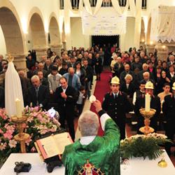Eucaristia de despedida da Imagem Peregrina