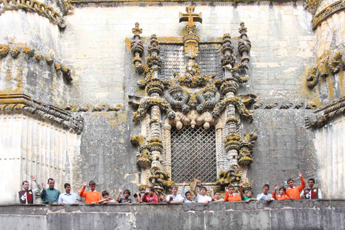 Visita ao convento de Tomar