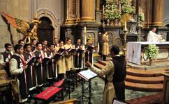 Missa na Basílica do Sameiro