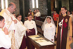 Baptismo na Igreja de Santo António, Porto