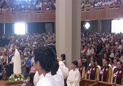 Missa na Catedral de Bragança, presidida por D. António Montes