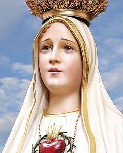 Imagem do Imaculado Coração de Maria