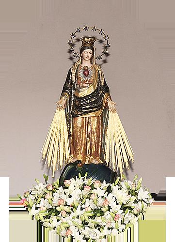 Imagem de Nossa Senhora das Graças - Padroeira da Cidade de Bragança