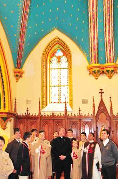 Sacristia da Igreja do Seminário dos Arautos do Evangelho