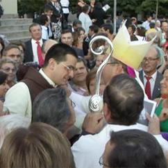 Arauto felicita D. Manuel Linda