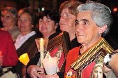 Algumas coordenadoras do Oratório do Imaculado Coração de Maria