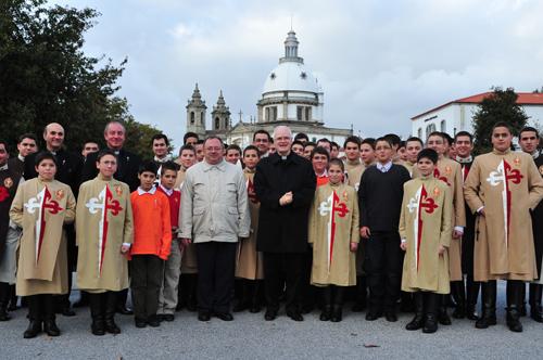 Cardeal D. Odilo Scherer, no Sameiro