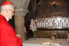 Celebração da Eucaristia em Santiago de Compostela
