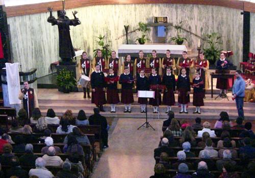Concerto de Reis na paróquia das Antas