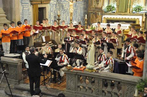 Homenagem Musical ao Divino Menino Jesus, em Braga