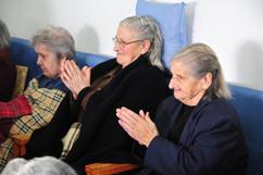 Visita a um lar de idosos, em Seia