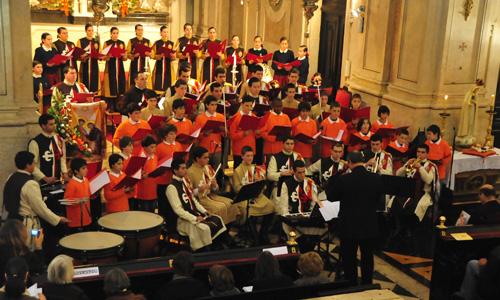 Homenagem musical ao Divino Menino Jesus, em Lisboa