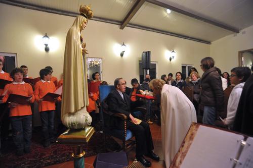 Missa e homenagem musical ao Divino Menino Jesus, em Palmela