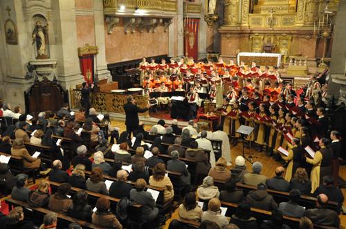 Homenagem musical ao Divino Menino Jesus, no Porto