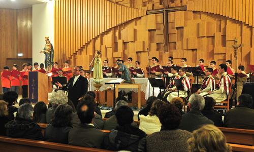 Homenagem musical ao Divino Menino Jesus, em Seia