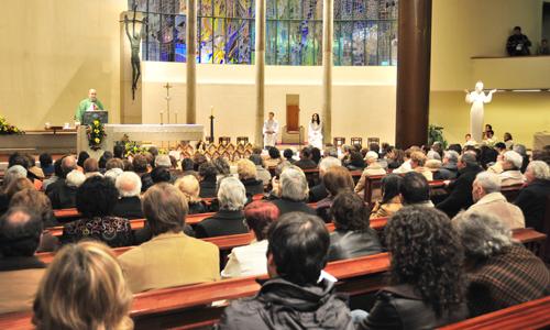 Devoção dos Cinco primeiros sábados, na paróquia da Maia