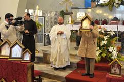 Bênção de um novo Oratório do Imaculado Coração de Maria