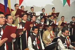 Coro e orquestra dos Arautos do Evangelho