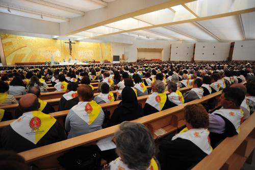 Vista geral do Encontro na Igreja da Santíssima Trindade
