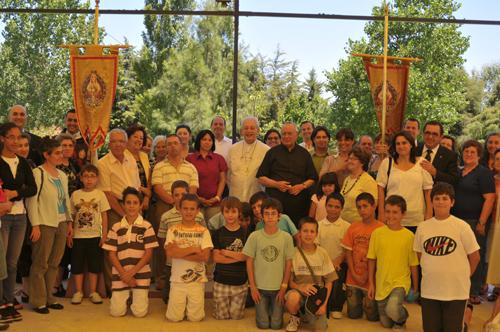 D. Rino Passigato e D. Alfio Rapisarda visitaram os Arautos do Evangelho