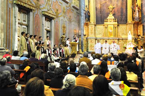 Missa presidida pelo P. José Alfredo