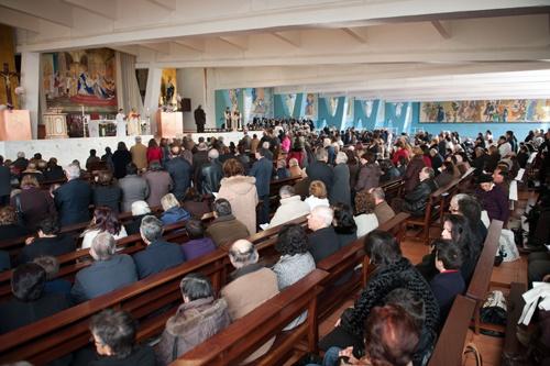Milhares de peregrinos na solenidade da Imaculada Conceição