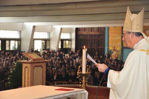 Missa presidida por D. Jorge Ortiga, Arcebispo Primaz de Braga