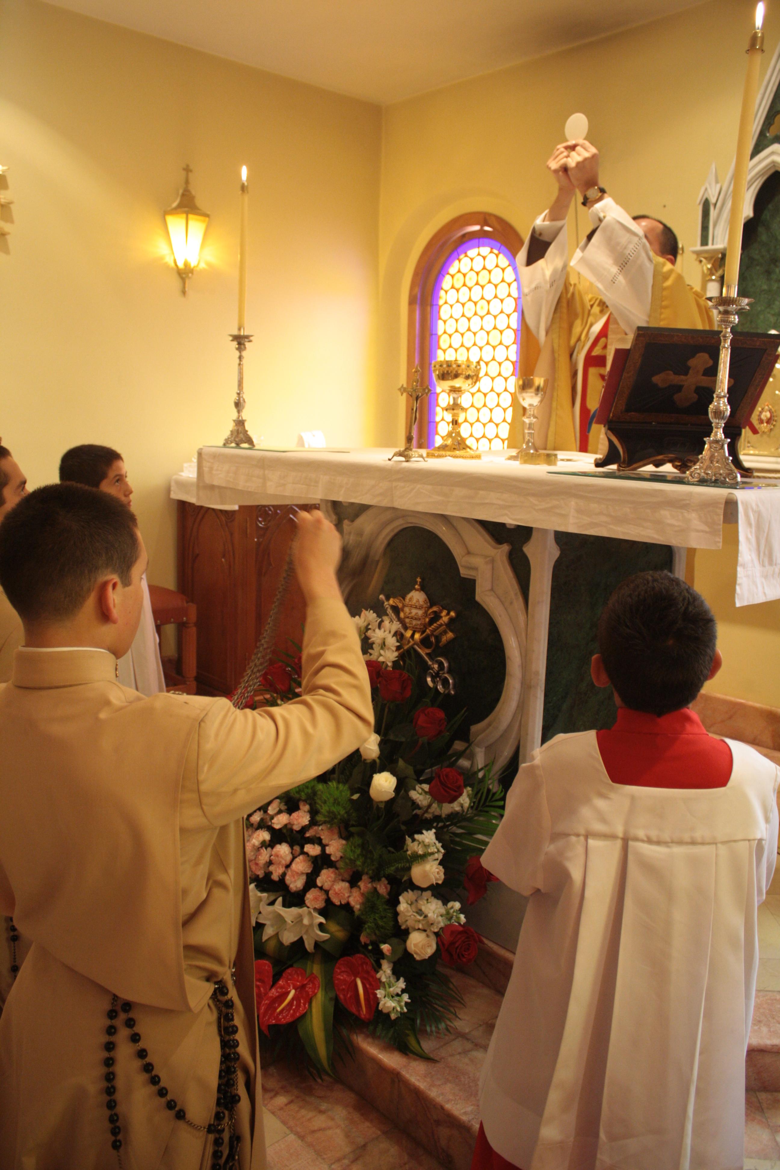 Santa Misa en Cuenca
