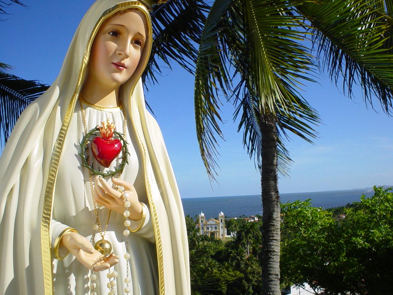 imagem de Nossa Senhora em Olinda