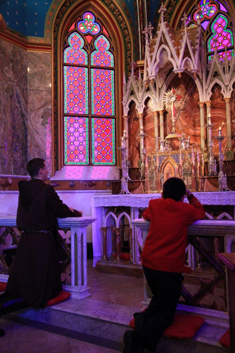 Adoração Perpétua na Basílica de Nossa Senhora do Rosário