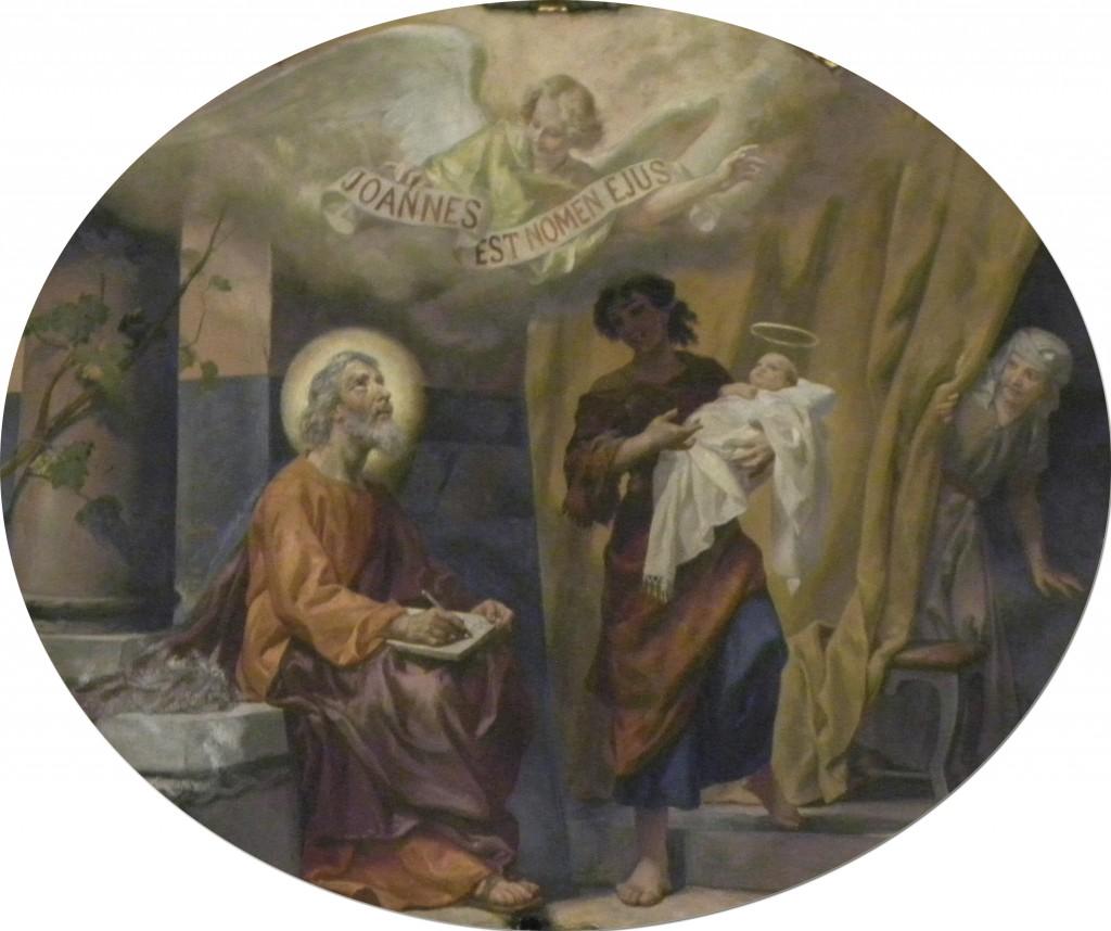 NAscimento de São João Batista