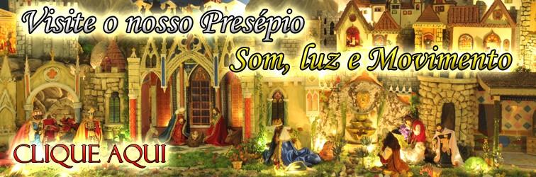 """Presépio """"Som, Luz e Movimento"""""""