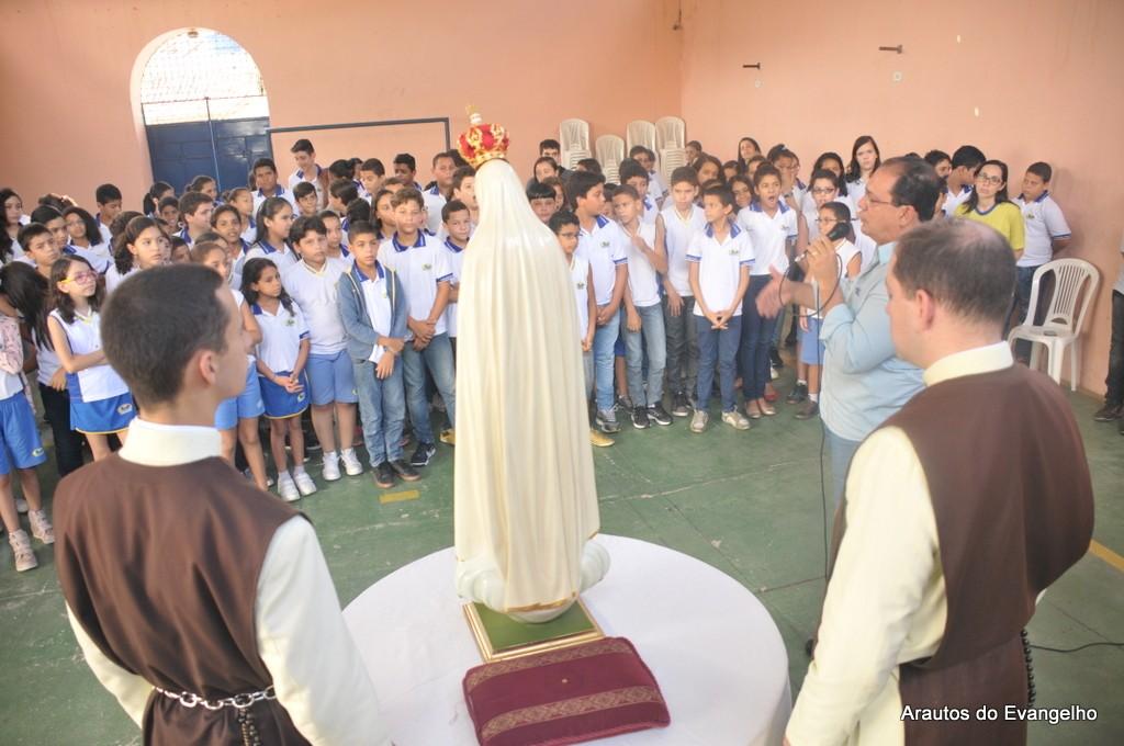 Projeto Futuro e Vida no Colégio Projeção - Vitória de Santo Antão - PE