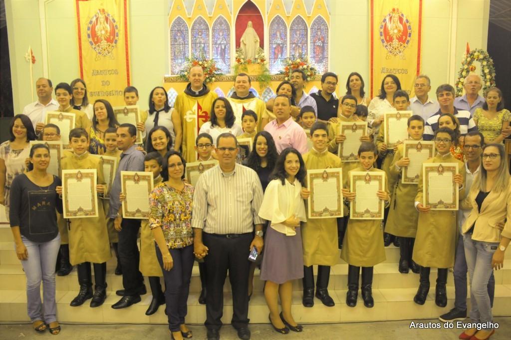 Consagração a Nossa Senhora - Arautos do Evangelho - Recife