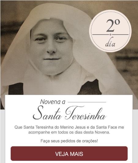 NOVENA A SANTA TERESINHA: PEÇA A SANTA DAS ROSAS MUITAS GRAÇAS!