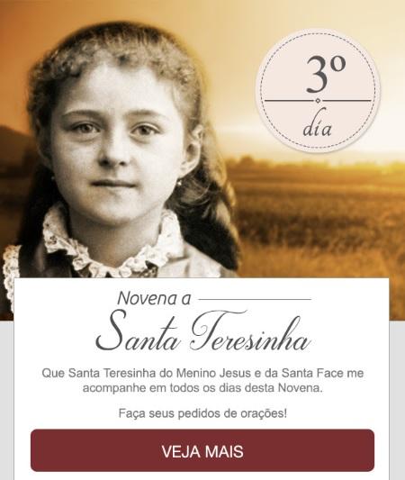 NOVENA A SANTA TERESINHA: RECEBA UMA CHUVA DE GRAÇAS E BÊNÇÃOS!