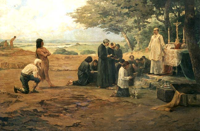 jesuitas catequizandoindios