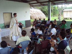 Misiones a lo largo del río Putumayo
